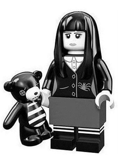 Lego Lego Minifigür - Seri 12 - 71007 - Sşooky Girl Renkli